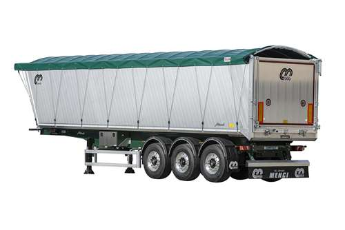 TIPPING SEMI-TRAILER SQUARE BODY