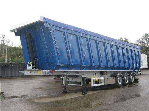 SEMITRAILER MENCI SA105R STEEL BODY FOR IRON SCRAP