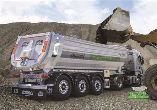 TIPPING SEMI-TRAILER ALLOY  ROUNDED BODY SL740 EXL