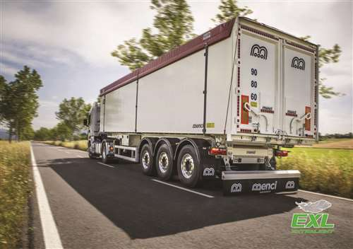 TIPPING SEMI-TRAILER SQUARE BODY SL 105 R EXL